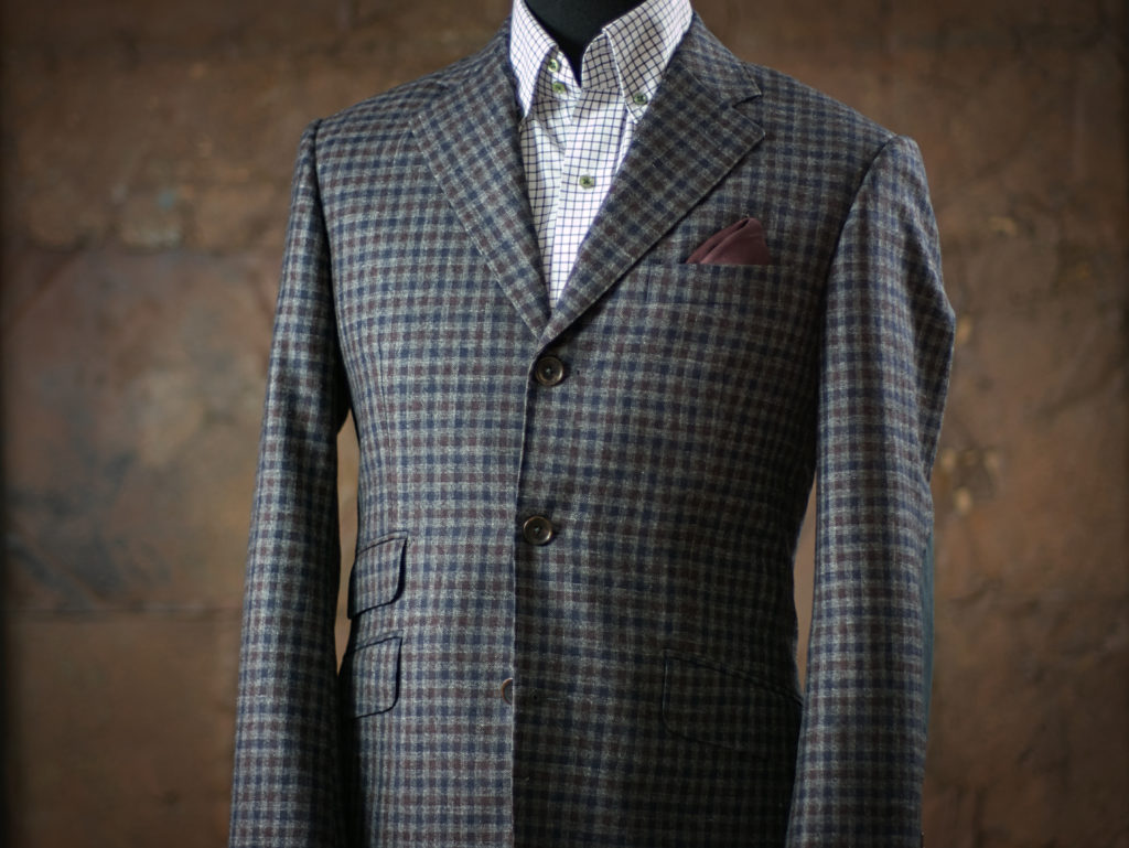 three buttons jacket made to measure portamento mtm